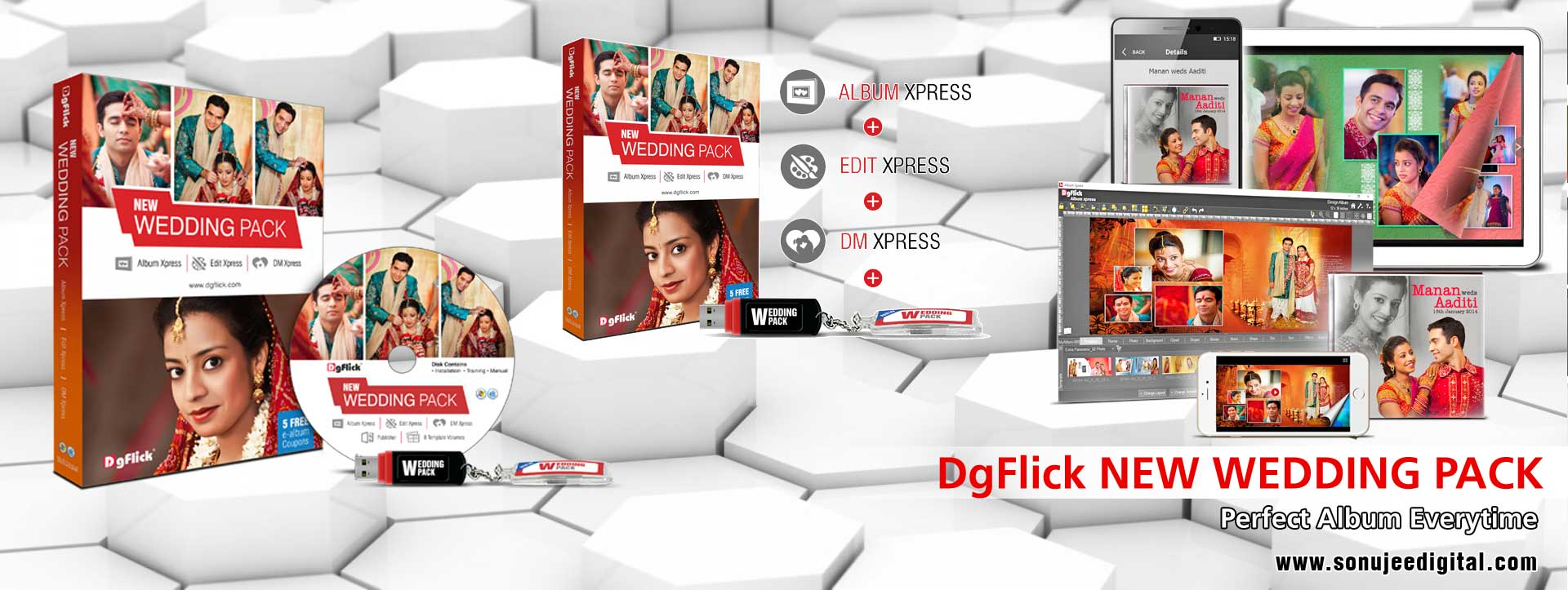 DgFlick New Wedding Pack