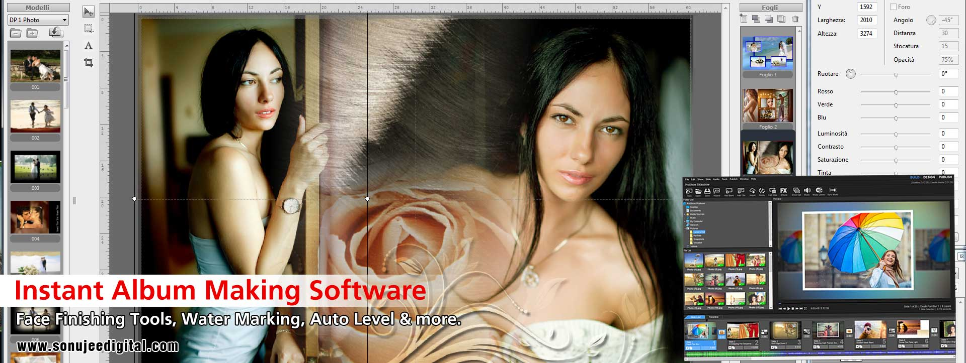Instant Album Making Software dealers distributors suppliers in india punjab ludhiana